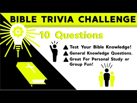 Bible Trivia Countdown Video Game - Challenge Your Friends Or Small Group