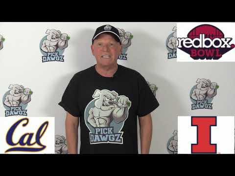 Illinois vs Cal 12/30/19 Free College Football Pick and Prediction: Redbox Bowl