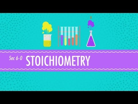 Stoichiometry: Chemistry for Massive Creatures - Crash Course Chemistry #6