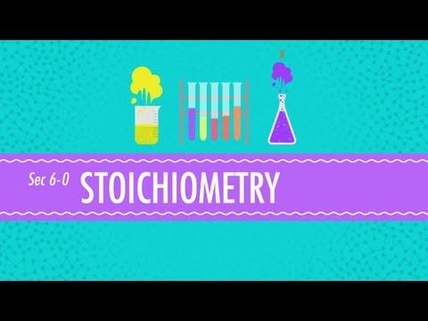 Stoichiometry: Chemistry for Massive Creatures - Crash Course Chemistry #6
