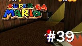 Super Mario 64 - Big Boos Haunt - Seek the 8 Red Coins - 39/120 - (N64)