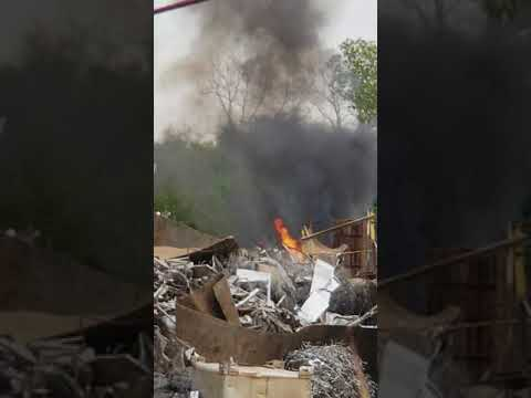Uncontrolled Fire At Cronimet Houston