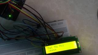 Khóa Cửa Thông Minh Keypad 4x4, Arduino