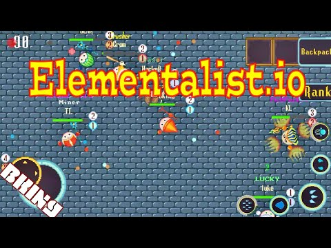 Elementalist.io An Io Rpg Gameplay By BKing (.io Game By AhrasGames)