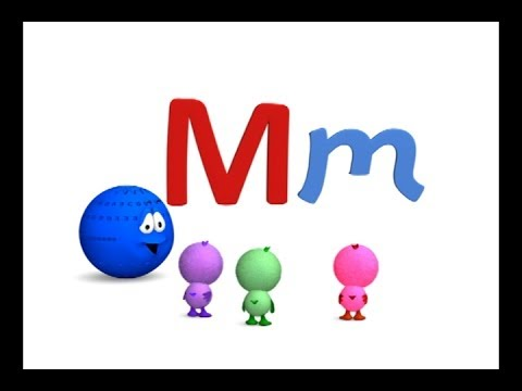 Las vocales A E I O U y la consonante M - Canta Cuento Infantil Educativo- La Pelota Loca