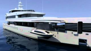 CMN Project ONE concept Superyacht
