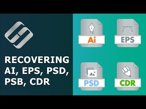 Recovering Deleted And Damaged AI, EPS, PSD, PSB, CDR (Ilustrator, Photoshop, CorelDraw) ⚕️📁💥