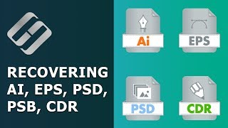 Recovering Deleted and Damaged AI, EPS, PSD, PSB, CDR (Ilustrator, Photoshop, CorelDraw) ⚕��💥