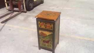 Tibetan Horse End Table