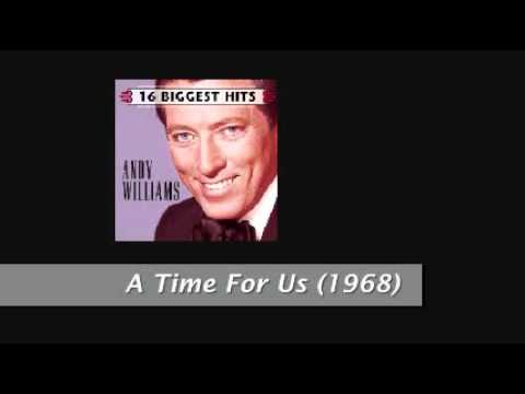 ANDY WILLIAMS  A TIME FOR US 1968