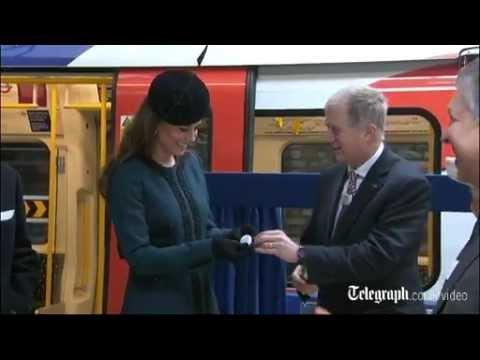 Kate Middleton gets 'Baby on Board' badge