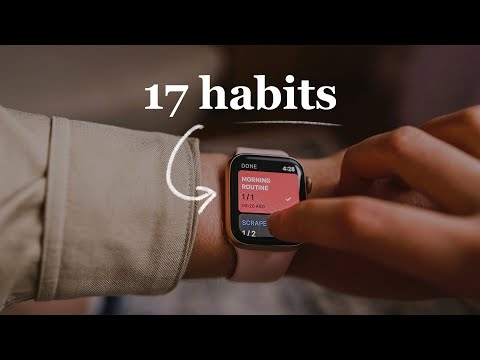 DAILY & WEEKLY HABITS that keep me healthy and productive