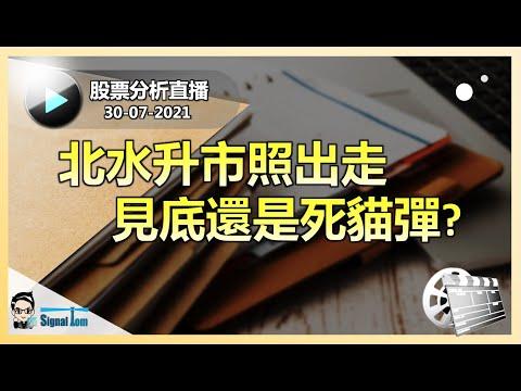 港股分析直播 30-07-2021 |  北水升市照出走  見底還是死貓彈?    |  講者: Tom Lee  Ray Ng