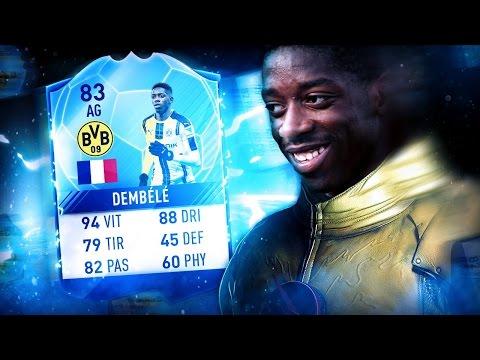 OUSMANE DEMBÉLÉ ET MARLOS! FIFA 17 Ultimate Team
