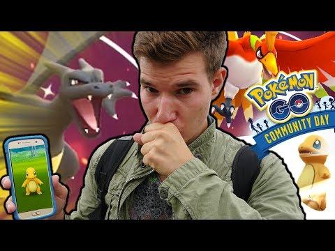 SHINY GLURAK WIR KOMMEN 😍 Pokémon Go Community Day