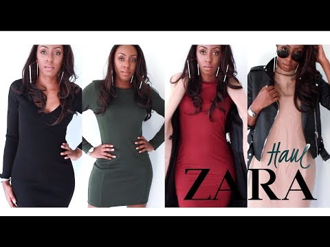 ZARA WINTER HAUL - KNIT DRESSES, OUTERWEAR & FRAGRANCES - WINTER LOOKBOOK | Style With Substance