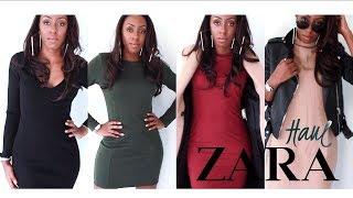 ZARA WINTER HAUL - KNIT DRESSES, OUTERWEAR & FRAGRANCES - WINTER LOOKBOOK | Style With Substance