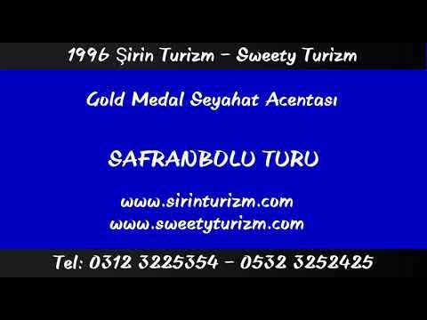 1996 Şirin Turizm - Sweety Turizm - Gold Medal Seyahat Acentası - Safranbolu Turu