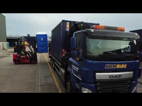 KDM Hire invest in bespoke facilities for welfare and storage fleet (K Cabin)