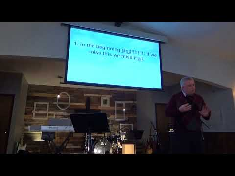 """People of the Book, Creation"" Oak Grove Church of God Sermon for 2/11/2018"