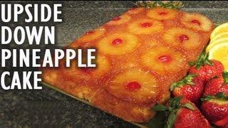 Upside down pineapple cake recipe