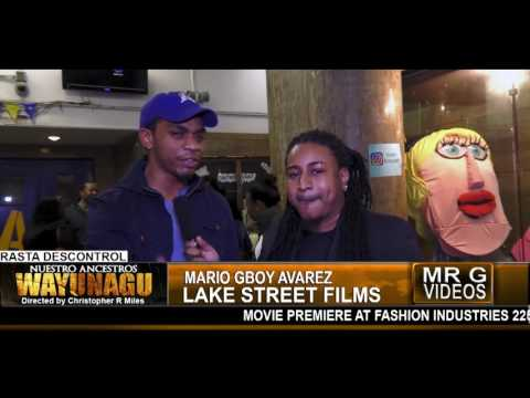 Wayunagu Movie Premiere in New York  MARIO GBOY ALVAREZ