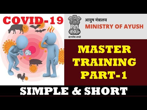 covid-19-training-part-1-by-ministry-of-health-and-ministry-of-ayush,-govt.-of-india