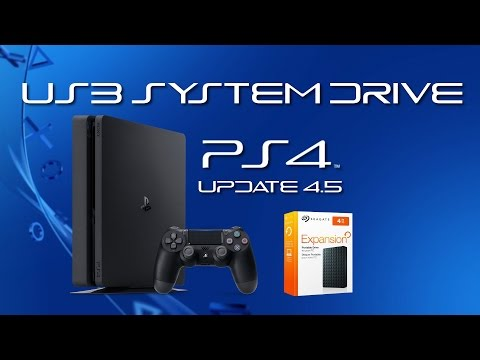 PS4: Use a USB Hard Drive to Store Games and Apps