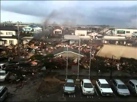 Tsunami in Natori, Miyagi Prefecture