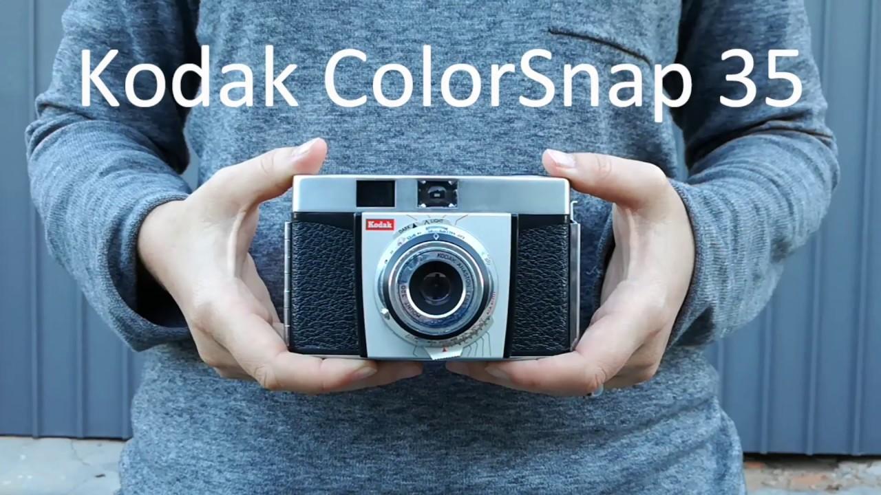 kodak colorsnap 35 model 2 with sample images youtube rh youtube com Kodak 35 Flash Pictures Taken with Kodak 35