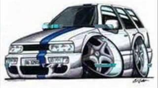Kreslené auta