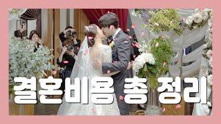결혼준비 비용 총정리, 결혼예산 / 웨딩홀,스드메,가전…