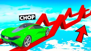 100% IMPOSSIBLE HILL CLIMB RACING CHALLENGE IN GTA 5