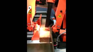 Cosen C-325nc: Metal Cutting Bandsaw Sawing Wood.