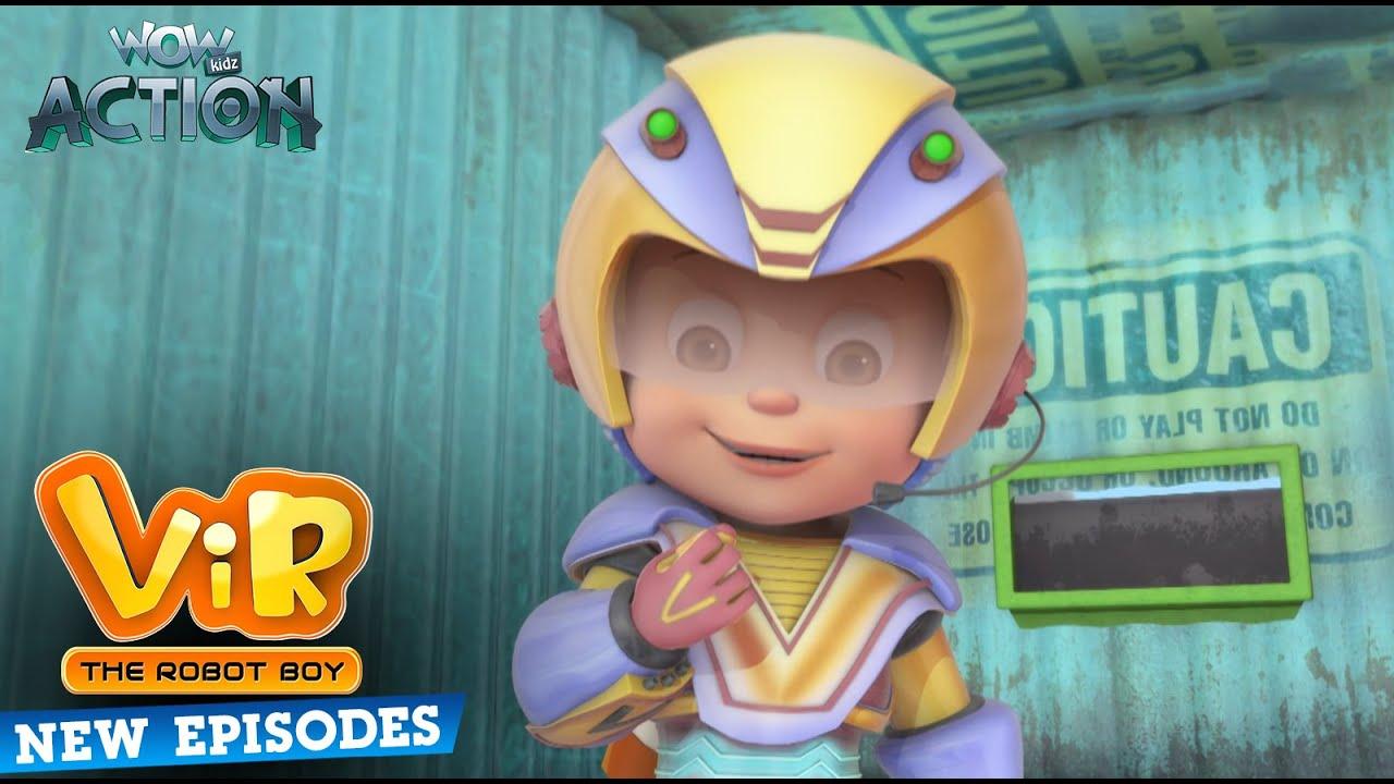 New Episodes Of Vir The Robot Boy | Ep 01 | Wow Kidz Action