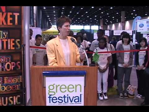 Sheila Simon   Lt Governor Illinois   Green Fest 2011