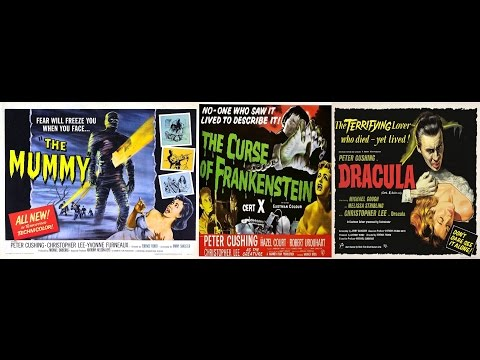 The Mummy (1959)/The Curse of Frankenstein (1957)/Dracula (1958) (aka Horror of Dracula) review