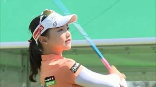 golf swing セキユウティン Yuting Seki 石昱婷 スマイル(^^)超簡単1日1回上達への近道!!② セキユウティン 検索動画 27
