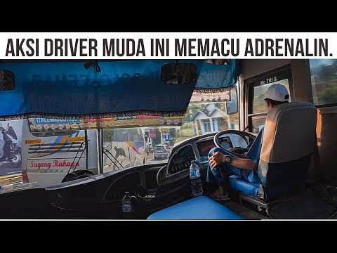 AKSI DRIVER MUDA INI MEMACU ADRENALIN !! LIHAT AKSINYA !! Trip Sugeng Rahayu 7109 Mas Tri In Action.