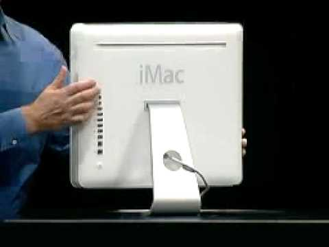 Apple Expo Paris 2004 The New Imac G5 Youtube
