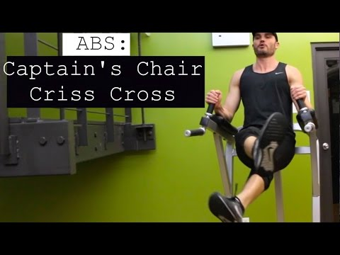 Abs Captain's Chair Criss Cross