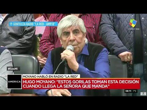 Moyano enojado con Macri: No me joden a mi