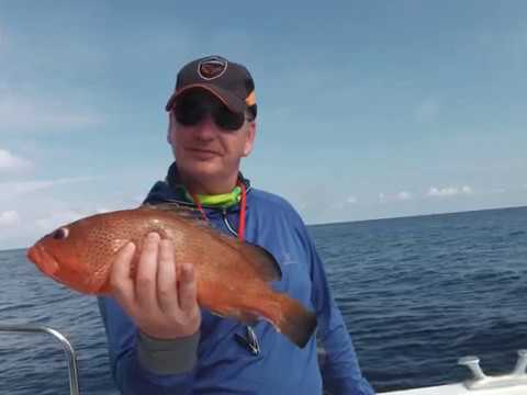 Deepsea fishing in Cuba 2016