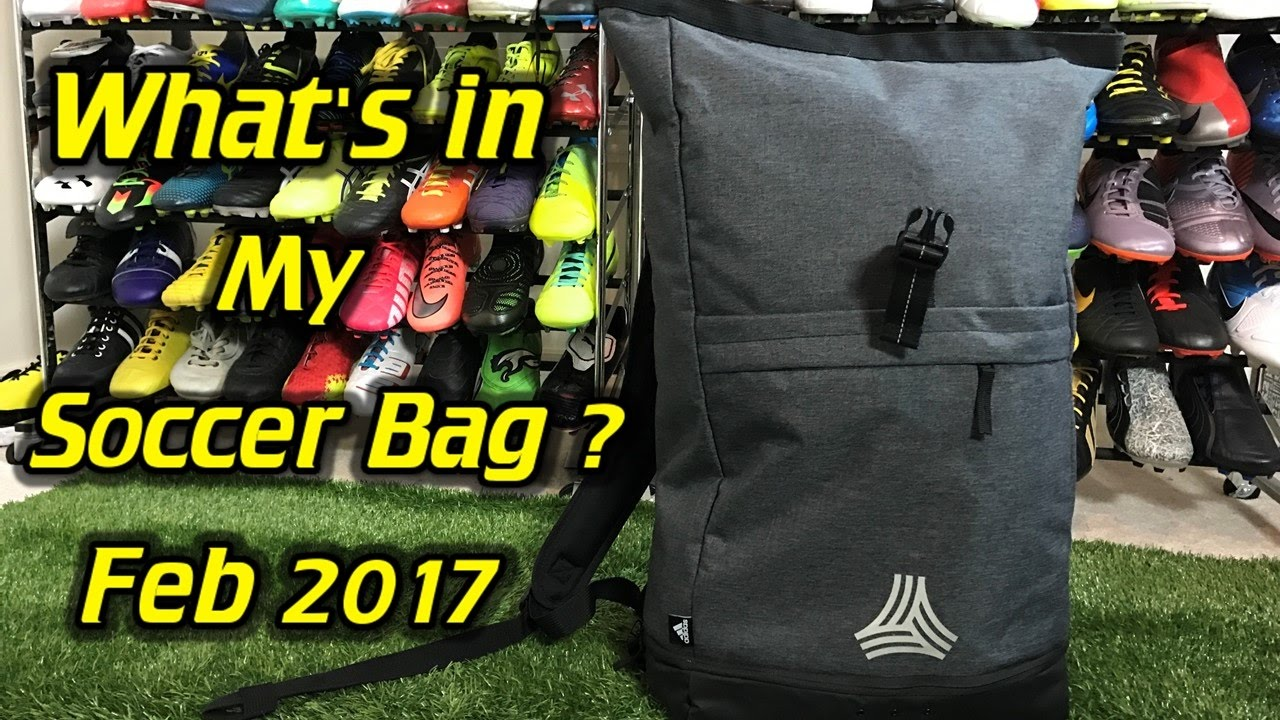 What S In My Soccer Bag February 2017