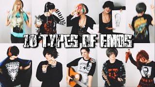 10 Types of Emos