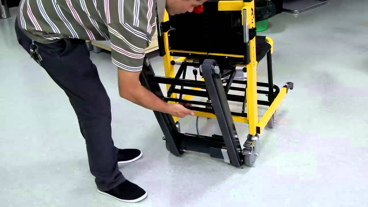 How to use climbing stairs power wheelchairs youtube for Motorized chair stair climber electric evacuation wheelchair electric wheelchair
