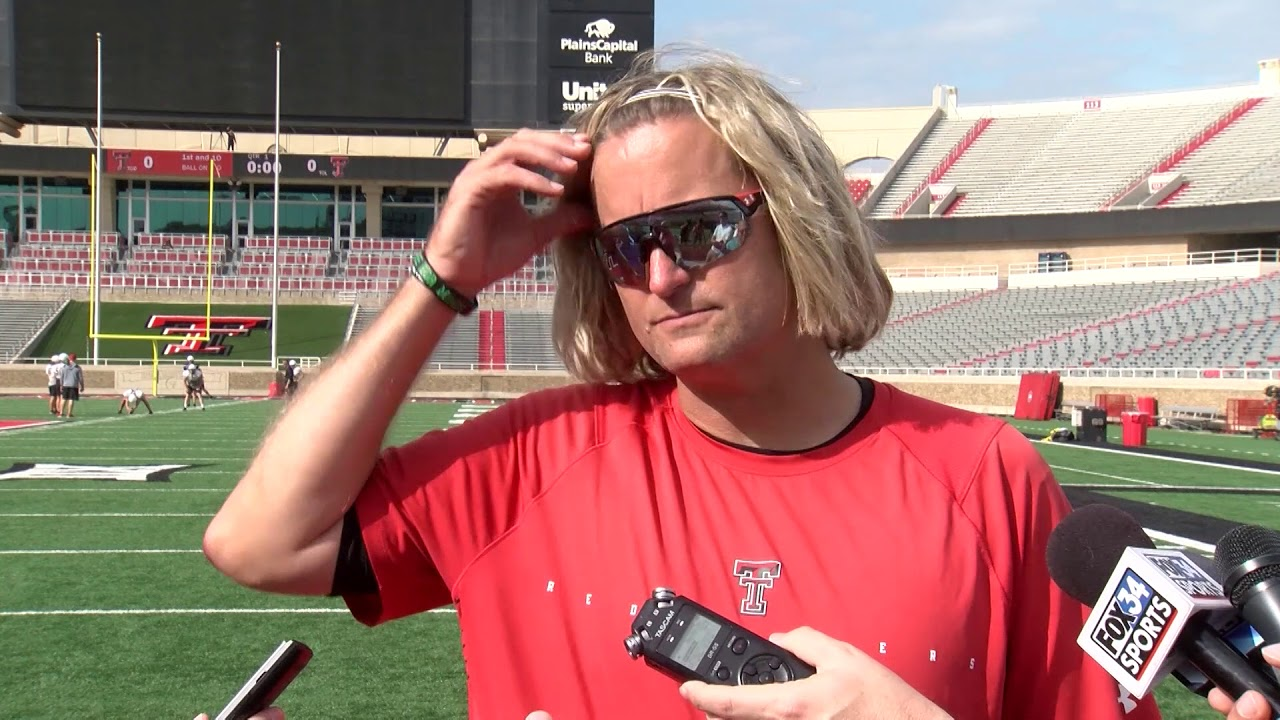 Texas Tech Football: David Yost Media Availability (OSU) | 10.1.2019