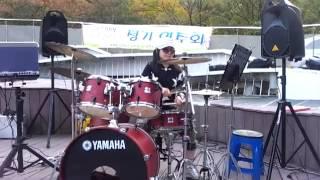 연안부두  드럼연주 (최화숙)