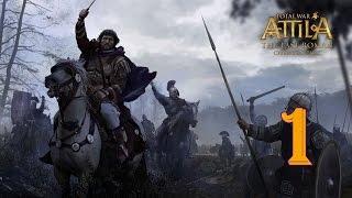Последний римлянин #1 - Начало экспедиции [Total War: ATTILA – The Last Roman Campaign]