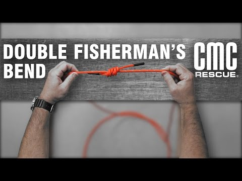 Learn How To Tie A Double Fisherman's Bend